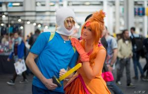 finn and flame by ryuuCosplay