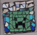 minecraft creeper mosaic thngy by rachphil