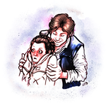 han+leia by crusanite