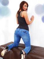 Jade in Jeans 4 by SpankingJeans