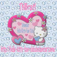 My Hello Kitty Fan Club ID 1 by TNBrat