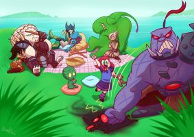 Picnic of Legends by NIELSPETERDEJONG