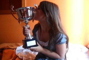 Kissing The Victory by FreakyPhoto