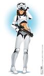 Stormtrooper Brooke by MLeth