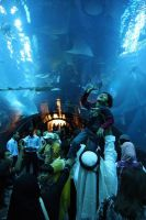 Dubai Mall Aquarium III by largethomas