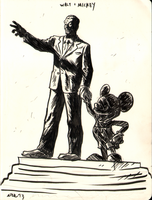 walt and mickey by erspears