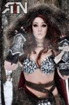 Red Sonja Dynamite Comics June Cover Model by Its-Raining-Neon