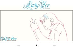 Lady Ice - Sen Rough 12 by LPDisney