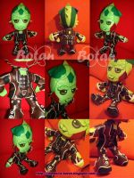 Thane Krios plush version by Momoiro-Botan