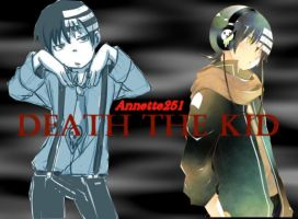 Death the Kid BG by Miharu-Akira