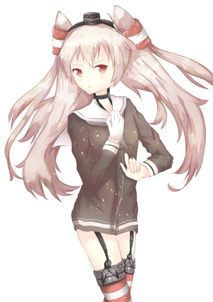 Amatsukaze by Feitaru