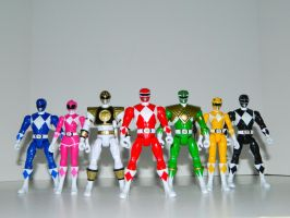 Mighty Morphin Power Rangers 1 by LinearRanger