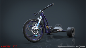 Downhill Trike by Asianhulk7