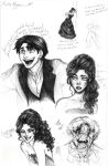 Moulin Rouge Sketches by AlexandriaMonik