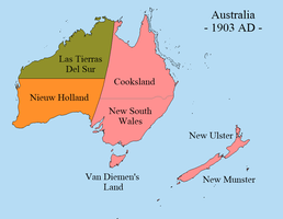 Alt-Colonization: Australia by FederalRepublic