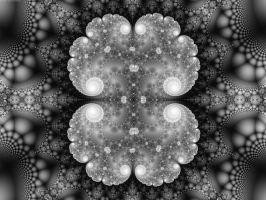 Island Clusters in Monochrome by element90