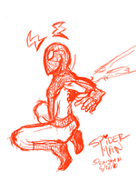 Devious Doodle: Spiderman by KaijahM