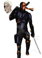 Deathstroke design March 2014 color by LucasBoltagon