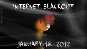 Internet Blackout Day - January 18, 2012 by ToonKid2007