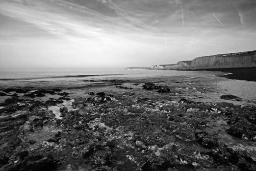 Birling Gap Morning by filmwaster