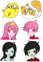 Background characters by mandaangel96