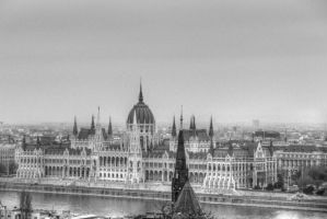 Hungarian Budapest Parliament by FaustFoto