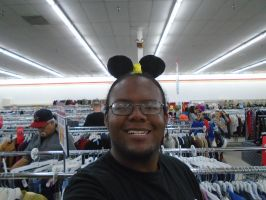 Me as Mickey Mouse by mylesterlucky7