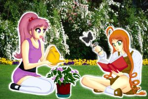 Behania and Brina by Kiacweb94