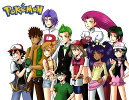 All Pokemon Characters...Again by maimai97