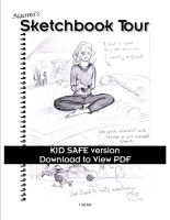Sketchbook Tour: Kidsafe by CaliforniaClipper