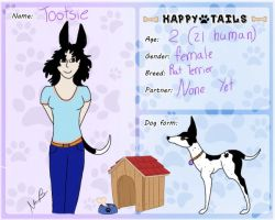 Happy tails- Dog: Tootsie by MosImagination