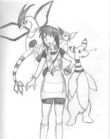 Trainer Phanny wants to battle by Phantomsamurai