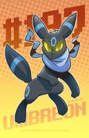 Umbreon by SupaCrikeyDave