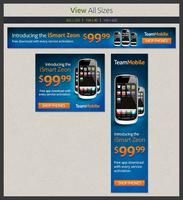 Cell Phone Web Banner Template by xstortionist