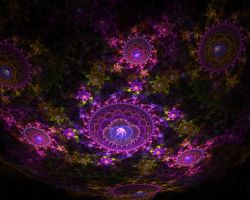 Inside The Fractal Geode by mynameishalo