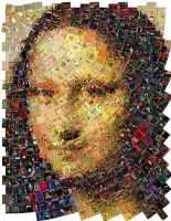 Mona Lisa Mosaic by Cornejo-Sanchez