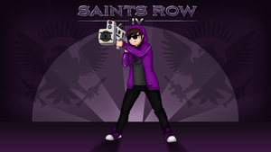 Saints Row Fanart by AmanDaMoustache