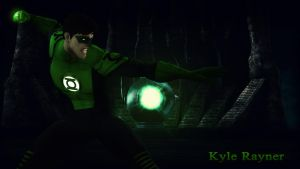 Kyle Rayner Wallpaper by BatmanInc
