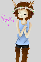 Hope - No Lineart by tigerwolfie2655