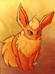 Flareon by Eatts
