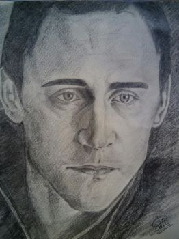 Loki (finished version) by Adititwh