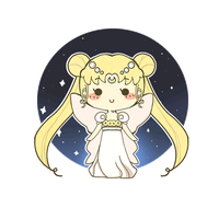 Sailor Moon Princess Serenity by MinjiXMuu-chan