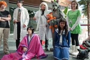 Fruits Basket gang youmacon by sailorstar1717