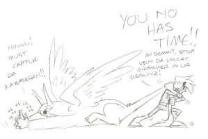 Laziness by whitegryphon