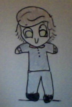 Chibi Harry Styles by kenni7