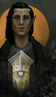 Inquisitor character card by the-vinsomer