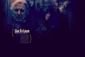 Alan Rickman. The Judge by MarySeverus