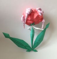 Florges Papercraft view 2 by giden445
