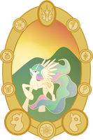 Celestia by TotallyAnAlicornGuys