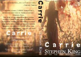 -CARRIE-  book cover by daveizoid
